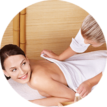 Образ массажа спины