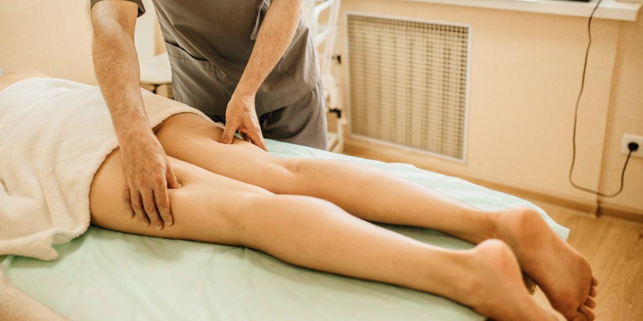 Антицеллюлитный массаж ног в салоне Колибри