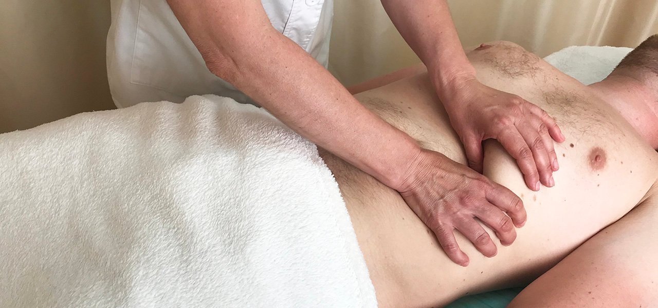 Как делать висцеральный массаж