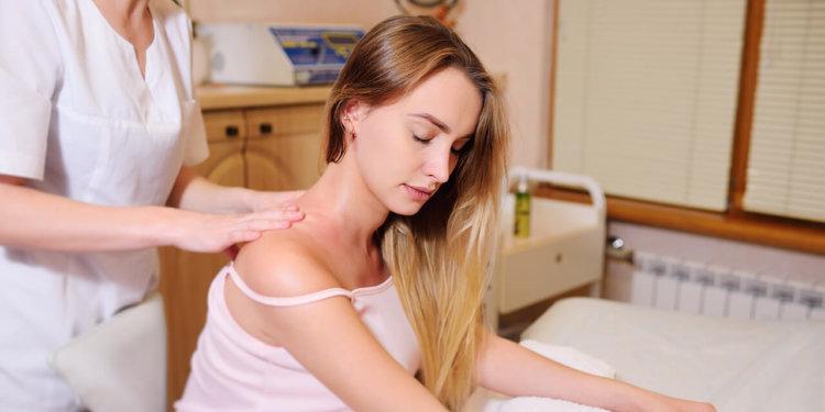 массаж шеи и головы беременным
