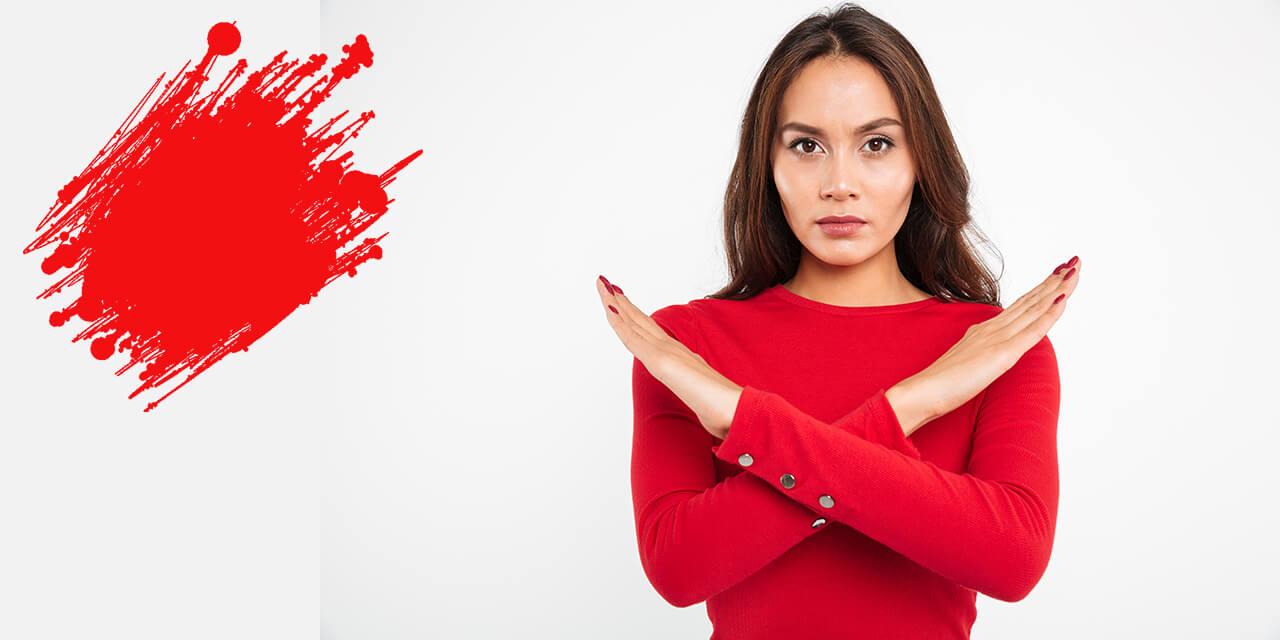 запрещенный массаж во время месячных